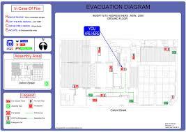 Fire Evacuation Plan Wa by Fire Block Plans Fireblockplans