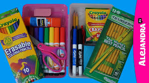 How To Get Organized At Home by How To Organize Your Pencil Case Pencil Box Organization Youtube