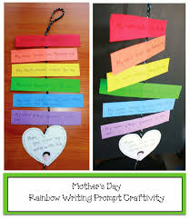 Best Homemade Mothers Day Gifts by Rainbow Mother U0027s Day Writing Prompt Craft Classroom Freebies