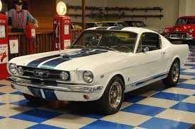 1965 fastback mustang value 1965 ford mustang fastback gt350 tribute white blue a e