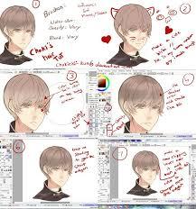 anime hairstyles tutorial anime hair tutorial by mano k on deviantart