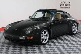 porsche 911 vintage 1996 porsche 911 4 993 all wheel drive denver colorado