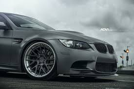 matte grey bmw insane graphite gray bmw m3 coupe sitting on classy adv1 custom