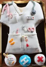 medical cake super cute cake doctors dentist nurses emt