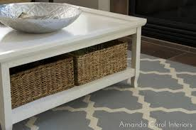 coffee table with baskets under coffee table coffee table baskets square with basket storage