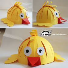 Homemade Easter Decorations With Paper by Best 25 Paper Hats Ideas On Pinterest Paper Hat Diy Bowl Hat
