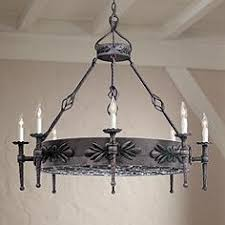 Wrought Iron Chandeliers Mexican Rustic Chandeliers Lodge Inspired And Natural Styles Lamps Plus