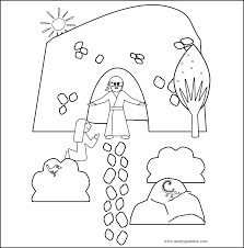 easter coloring page for kids archives gobel coloring page
