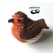 robin crochet pattern crochet bird pattern crochet