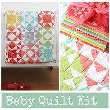 v and co endless summer baby quilt kits