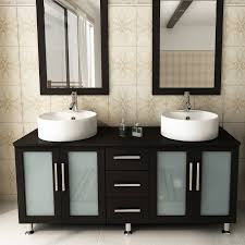 59 Double Sink Bathroom Vanity by Jwh Living 59