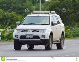 mitsubishi cars 2009 private car of mitsubishi pajero suv car 2009 editorial image