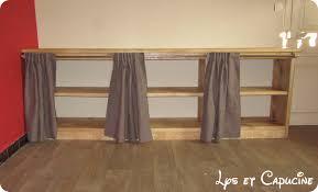 meuble à rideau cuisine meuble cuisine avec rideau coulissant gallery of rideau coulissant