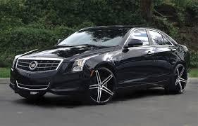 wheels for cadillac ats lexani r03 black machined wheels on cadillac ats wheels carz