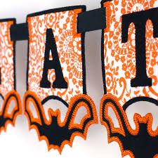 Halloween Banners by Halloween Bat Banner Ith Project 2 Variations In 4 Sizes Each