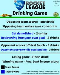 Meme Drinking Game - rocket league drinking game imgur