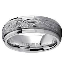mens titanium wedding rings titanium men s wedding bands groom wedding rings shop the best
