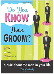 wedding gift quiz do you your groom quiz book wedding humorous gift book