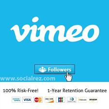 buy followers buy real vimeo followers socialrez