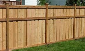Backyard Fencing Cost - wood fences vinyl fencing mn