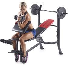 Buy Cheap Weight Bench Weider Bungee Bench Total Body Workout System Walmart Com