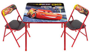 Childs Patio Set by Disney Pixar Cars Furniture Toys