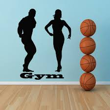 high quality gym design buy cheap lots from wall decals gym room design body building sport vinyl sticker home decor china