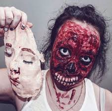 Bloody Mary Halloween Costume 21 Scary Halloween Makeup Ideas Stayglam