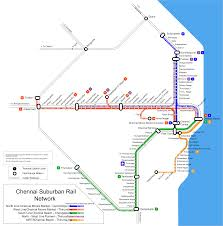Chennai Metro Map by File Chennai Suburban Rail Map Svg Wikimedia Commons
