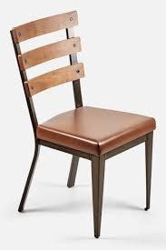 chaise rembourrée chaise rembourrée avec dossier en merisier maison bureau et