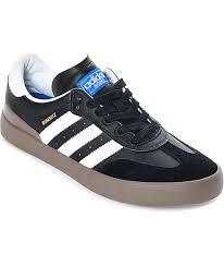 white samba adidas busenitz vulc samba rx black white shoes zumiez