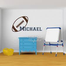 aliexpress com buy cartoon rugby boys name wall sticker kids aliexpress com buy cartoon rugby boys name wall sticker kids name wall decal personalized rugby name stickers baby nursery cut vinyl stickers c59 from