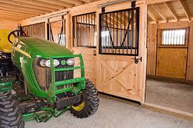 Tractor Barn Farm Tractor In Barn Editorial Photo Image 6159291