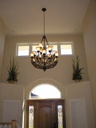 lighting lowes chandelier with cream wall and doors for home