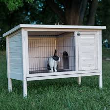 Make Rabbit Hutch Plans To Build An Outdoor Rabbit Hutch Make It Yourself And Save