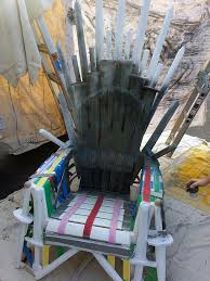 How To Make A Gaming Chair How To Build A Replica Of The Iron Throne From U0027game Of Thrones U0027