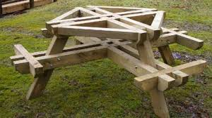 Wooden Picnic Table Plans Elegant Round Wood Picnic Table Best Tables Round Wooden Picnic