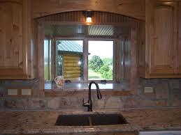 window above sink no over kitchen casement with kitchen bay window