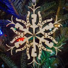 horseshoe ornaments 13 christmas ornaments paperchases petticoats