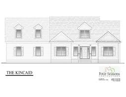 New Home Construction Plans by The Kincaid Four Seasons Contractors 252 462 0022