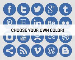 Facebook Icon by 19 Circle Social Icons In Vector Images Free Social Media Icons