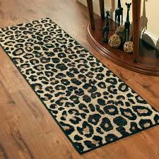 Cheetah Print Bathroom by Better Homes And Gardens Cheetah Print Area Rugs Or Runner