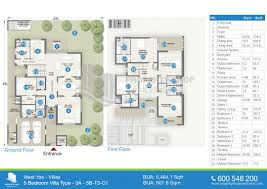small house plans with pictures bedroom villa type bua sqft t3