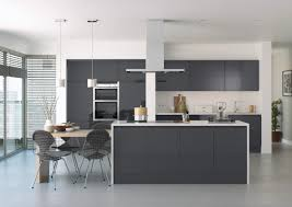 white anthracite handleless kitchen bi fold door google search