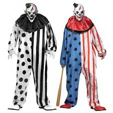 Ebay Size Halloween Costumes Evil Patriotic Killer Clown Purge Halloween Costume