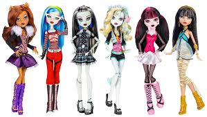 Monster High Costumes Spirit Halloween Amazon Com Monster High Dolls Original Ghouls Collection