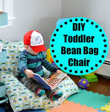 diy toddler bean bag chair wife in progress