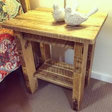 Pallet Furniture Side Table 125 Awesome Diy Pallet Furniture Ideas