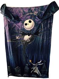 the nightmare before comfy blanket with