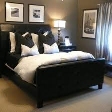 Black And Brown Bedroom Furniture by Best 25 Masculine Bedrooms Ideas On Pinterest Modern Bedroom